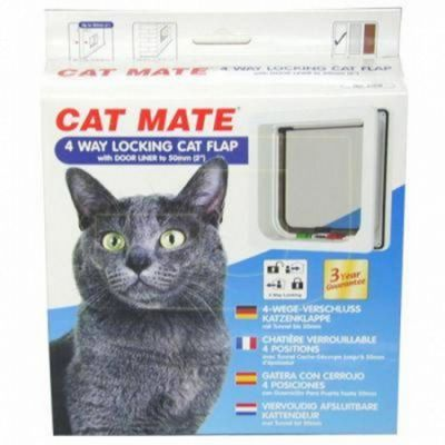 Cat Mate 4 Way Locking Cat flap (235W)
