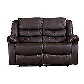 Sofa Collection Windermere Recliner Sofa - 2 Seat - Brown