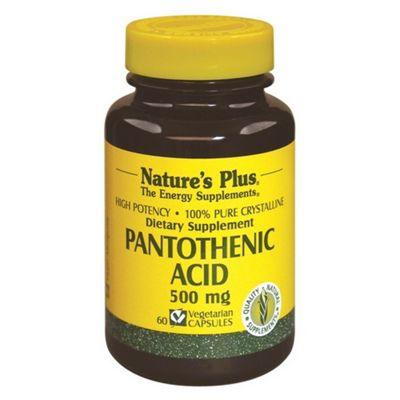 Pantothenic Acid 500mg.