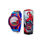 Spiderman Digital Watch In Tin