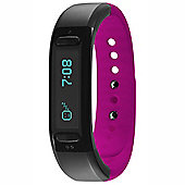 Soleus Go Activity Tracker - Black/Pink
