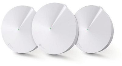 TP-Link Deco M5 Whole Home Mesh Wi-Fi System (4500 sq feet Coverage, Router and Wi-Fi Extender Replacement) - Pack of 3