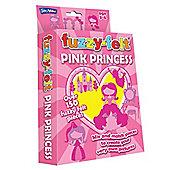 Fuzzy-Felt Pink Princess Hanging Pack