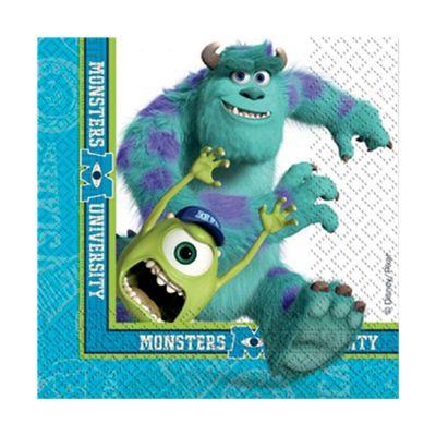Monsters University Napkins - 2ply Paper - 20 Pack