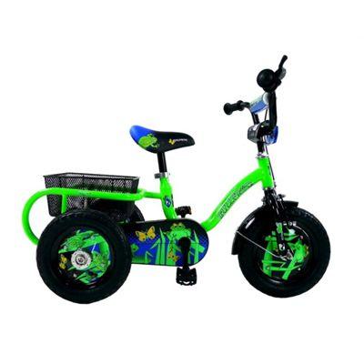 "Concept Pedal Pals Bullfrog 12"" Wheel Trike, Green/Black"