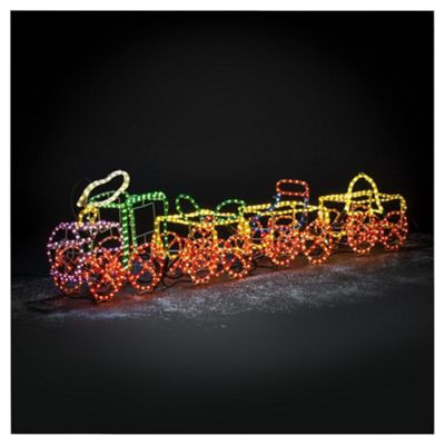 Buy dobbies 3d rope light train from our all christmas range tesco dobbies 3d rope light train aloadofball Images