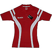 Kooga Pro Tech Tight Fit Match Shirts - Red