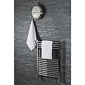 Silentnight 100% Cotton 525gsm 2 Piece Hand Towel Set - White
