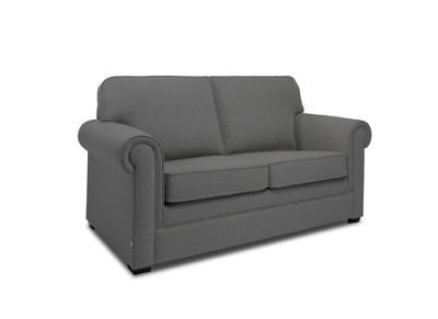 JAY-BE Classic Pocket Sprung Sofa Bed in Luxury Slate Fabric