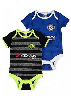 Chelsea Baby Core Kit 2 pack Bodysuits - 2016/17 - Blue