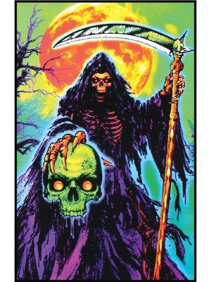 Reaper's Soul Blacklight Poster
