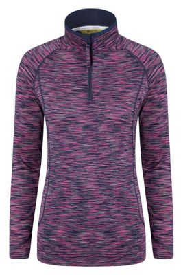 Mountain Warehouse CHAKRA WOMENS HALF ZIP MIDLAYER ( Size: 10 )