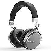 Bluedio Vinyl Wireless On-Ear Headphones Black/Silver