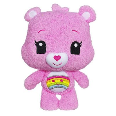 Care Bears Care-a-Lot Friends - Cheer Bear Soft Toy