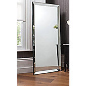 Large Modern Frameless Wall Mounted Mirror Rectangle 5Ft10x2ft6 178X76cm