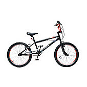 "XN-1 20"" Freestyle Wheel BMX Bike Black/Red Adult & Kids"