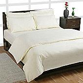 Homescapes  Egyptian Cotton Duvet Cover 1000 TC, - Cream