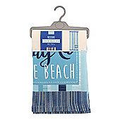 Country Club Microfibre Beach Towel, Day at the Beach