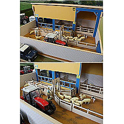 Brushwood Bt8750 Sheep Handling Unit - 1:32 Farm Toys