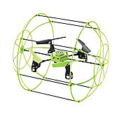 Galaxy Destroyer 4 Channel Skywalker Drone With Glow In The Dark Cage