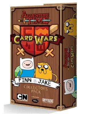 Adventure Time Card Wars Finn vs Jake TCG Collectors Pack