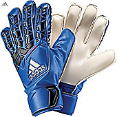 Adidas Ace Fingersave Junior Goalkeeper Gloves - Blue