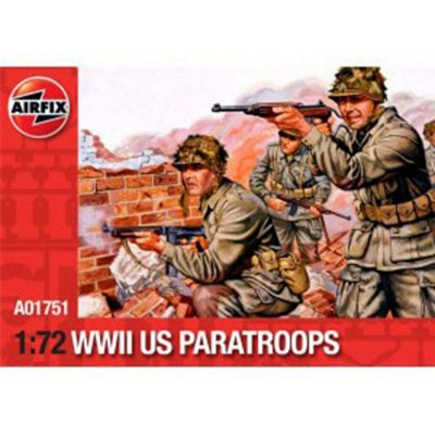 WWII U.S. Paratroops (A01751) 1:72