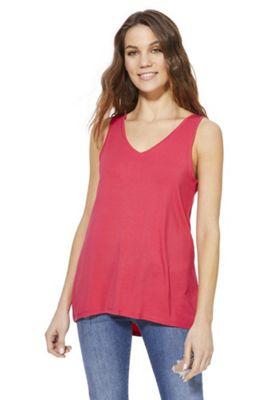 F&F Lenzing Viscose® Vest Top Pink 12
