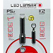 LED Lenser P5.2 & K2 Torch Gift Set