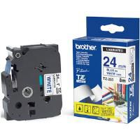 Brother TZ-253 Blue on White 24mm Laminated Labelling Tape (8m) for P-Touch