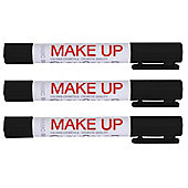 Playcolor Basic Make Up Pocket 5g Face Paint Stick (Pack of 3 - Black)