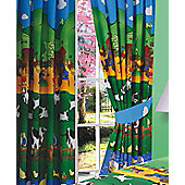 Farm Animal Curtains, 54s - Lined