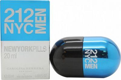 Carolina Herrera 212 NYC Men Pills Eau de Toilette (EDT) 20ml Spray For Men