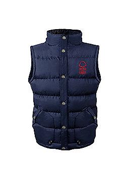 Nottingham Forest FC Boys Gilet - Navy blue