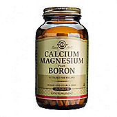 Solgar Calcium Magnesium plus Boron Tablets 250