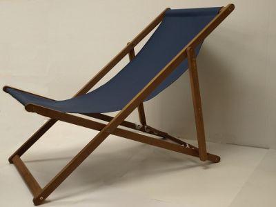 Mir Eucalyptus Deck Chair Blue
