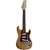 Stagg Natural 3/4 Size Kids Electric Guitar