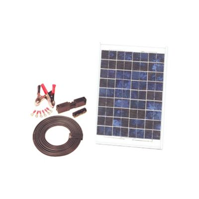 10W Solar Panel Kit 12V Battery Charger Caravan/Boat