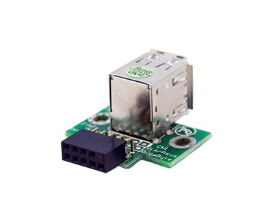 StarTech 2 Port USB Motherboard Header Adapter