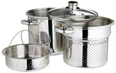 Kitchen Craft Stainless Steel Pasta Pot