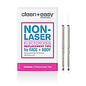 Clean & Easy One Touch Electrolysis Stylet Tips