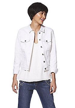 Vero Moda Denim Jacket - White
