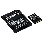 Kingston Canvas Select 64GB Class 10 UHS-I speed microSD Memory Card
