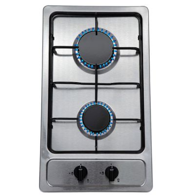 SIA SSG301SS 30cm Domino Gas Hob In Stainless Steel | LPG KIT | FFD
