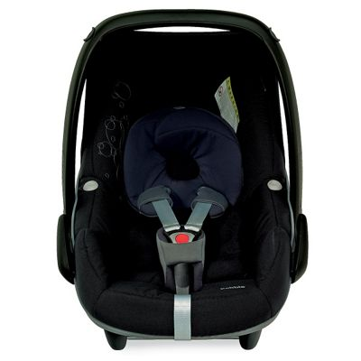 buy maxi cosi pebble baby car seat total black from our. Black Bedroom Furniture Sets. Home Design Ideas