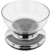 Judge Chrome Round Bowl Kitchen Weighing Scales
