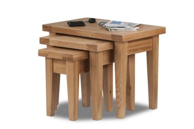 Hawkshead Calgary Set of 3 Nest of Tables