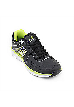 Woodworm Sports Flame Mens Running Shoes / Trainers - Black