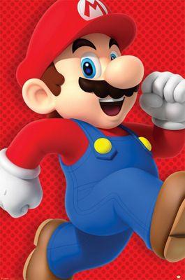 Super Mario Run Poster 61 x 91.5cm