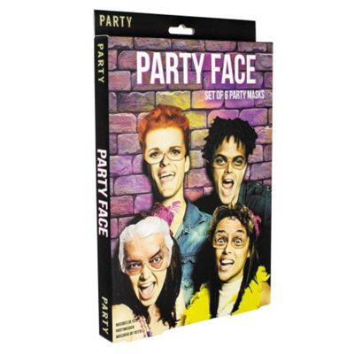 Party Face Photo Booth Props
